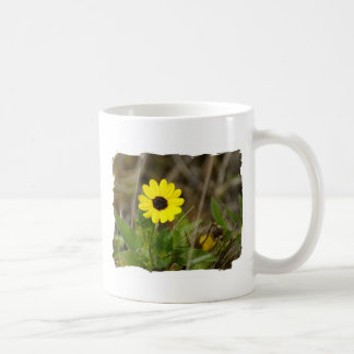 Yellow Florida Wildflower Coffee Mug