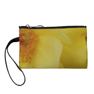 Yellow Flower Coin Wallet