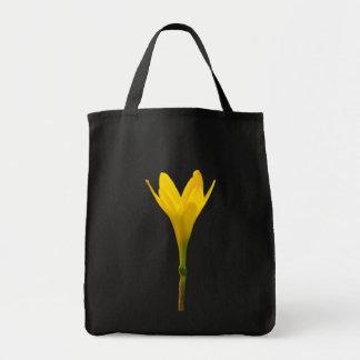 Yellow Flower Canvas Bag