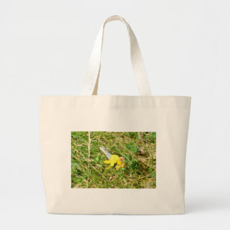 Yellow Flower Blue Butterfly Bags
