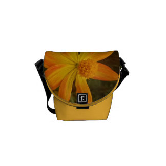 Yellow flower cute bag courier bags