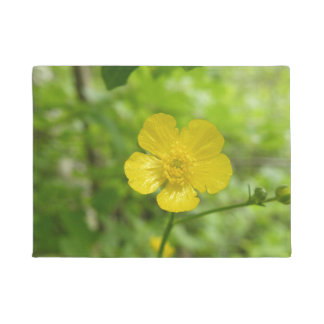 Yellow Flower Door Mat