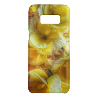 Yellow flower Galaxy S8 Phone Case
