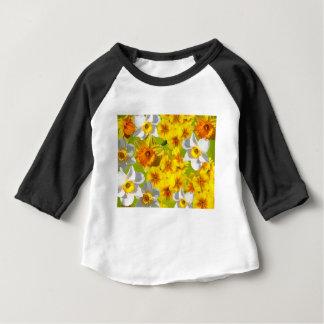 Yellow Flower Graphic Baby T-Shirt