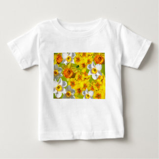 Yellow Flower Graphic Baby T-Shirt