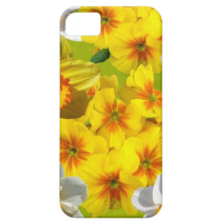 Yellow Flower Graphic Barely There iPhone 5 Case