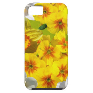 Yellow Flower Graphic iPhone 5 Covers