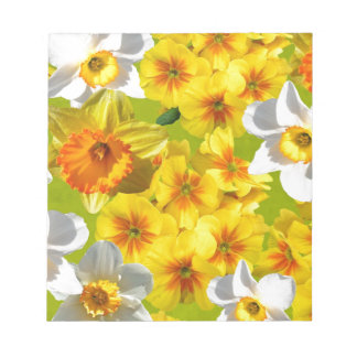 Yellow Flower Graphic Notepad