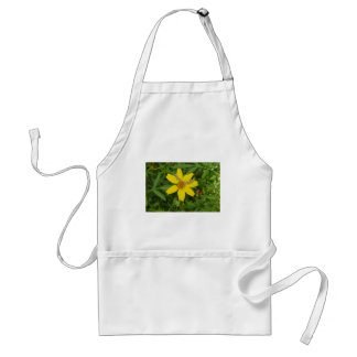Yellow Flower In the Grass Standard Apron
