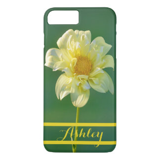 Yellow Flower iPhone 7/8 Plus Case Personalized