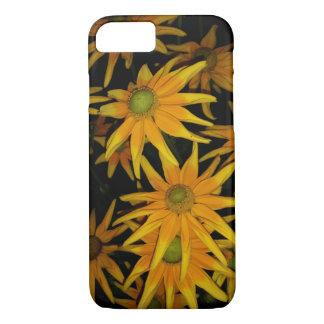 Yellow flower iPhone 7 case