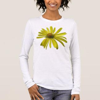 Yellow Flower Long Sleeve Long Sleeve T-Shirt