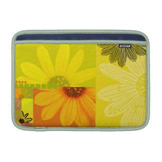 Yellow Flower Macbook Air Sleeve