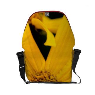 Yellow Flower Mini Messenger Bag