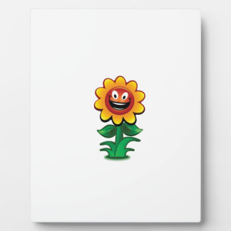 yellow flower of smiles plaques
