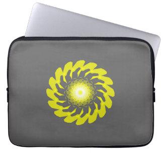 Yellow Flower Original Laptop Sleeve