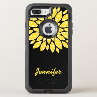 Yellow Flower OtterBox Defender iPhone 7 Plus Case