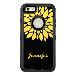 Yellow Flower Otterbox iPhone 6 Plus Case