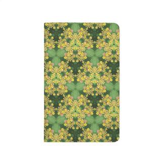 Yellow Flower Pattern Journal