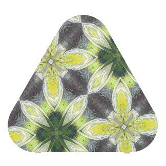 Yellow Flower Pattern Speaker