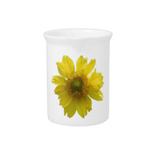 Yellow Flower Pitcher