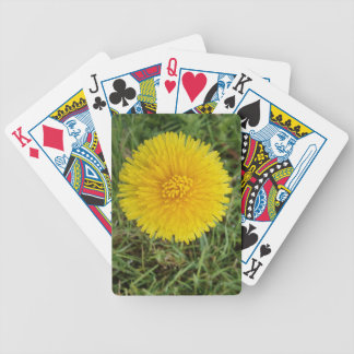 Yellow Flower Poker Playing Cards