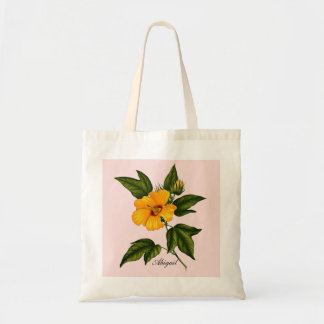 Yellow Flower Power Budget Tote