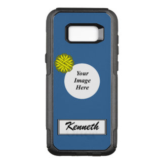 Yellow Flower Ribbon Template by Kenneth Yoncich OtterBox Commuter Samsung Galaxy S8+ Case
