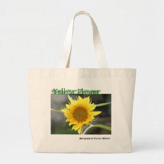 Yellow Flower Tote Jumbo Tote Bag