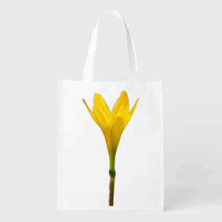 Yellow Flower Grocery Bags
