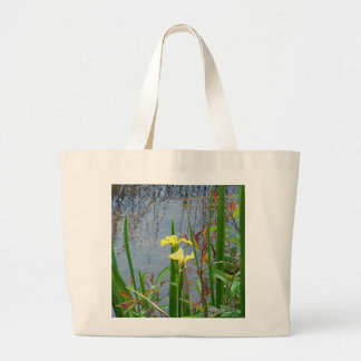 Yellow Flowers and Reflections Bag