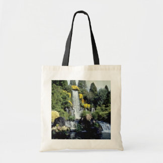 yellow Flowers and waterfall flowers Tote Bag