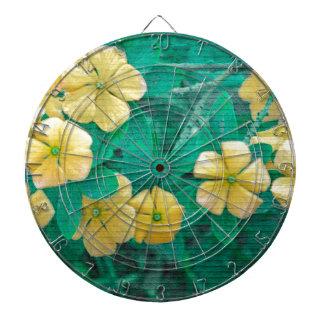 Yellow Flowers at Nature Dartboard