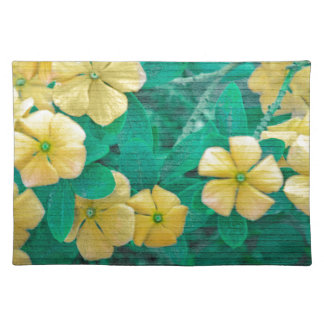 Yellow Flowers at Nature Placemat