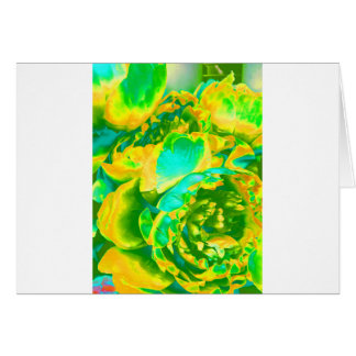 Yellow Flowers Blooming Bulb Designs Card