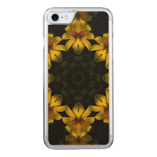 Yellow Flowers Carved iPhone 8/7 Case