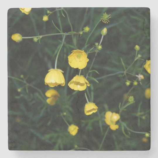 Yellow Flowers Coaster