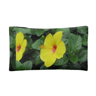 Yellow Flowers Cosmetic Bag