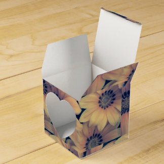 Yellow flowers favour box