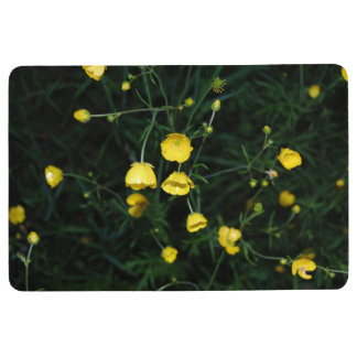 Yellow Flowers Floor Mat
