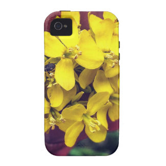 Yellow Flowers iPhone 4 Covers