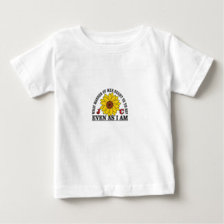 yellow flowers Resurrection easter Baby T-Shirt