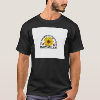 yellow flowers Resurrection easter T-Shirt