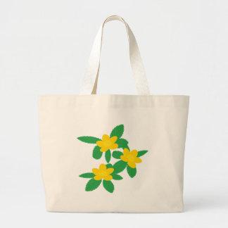 Yellow Flowers Tote Gags Jumbo Tote Bag
