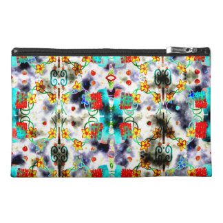 Yellow Flowers Travel Accessory Bag