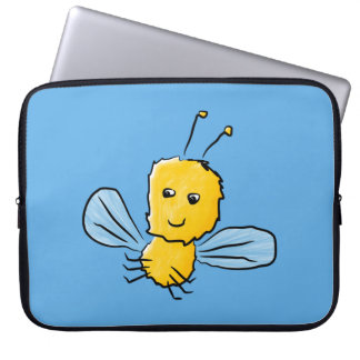 Yellow Flying Insect Bug Laptop Sleeve