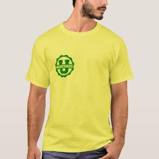 Yellow Front & Back Logo T-Shirt