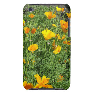 Yellow garden flowers iPod touch case