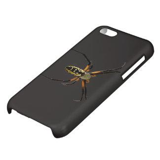 Yellow Garden Orb-Weaver Spider Case For iPhone 5C