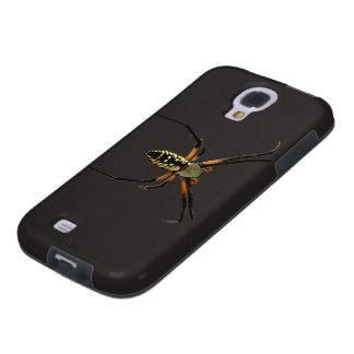 Yellow Garden Orb-Weaver Spider Galaxy S4 Case